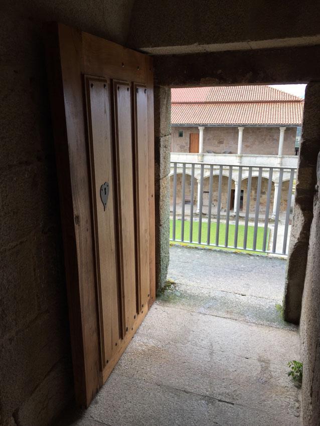Cubierta Torre Homenaje Castillo de Monterrei