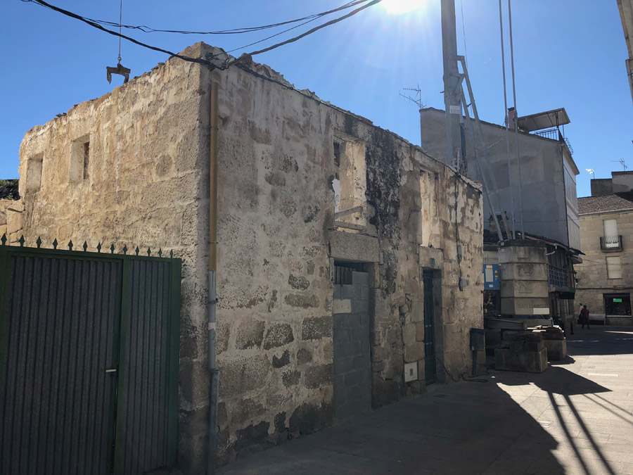 Rehabilitación vivienda Calle del Pozo Verín