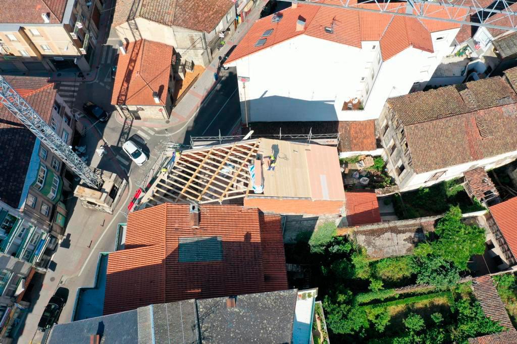 Rehabilitación edificio Construcciones Ropán
